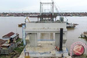 Pembangunan jembatan musi VI terus dimaksimalkan