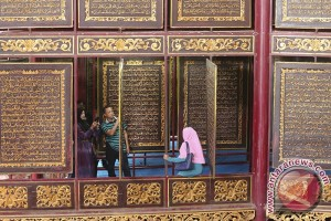 Pengunjung Al-quran akbar di Palembang meningkat