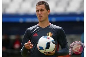 Hazard akan absen pertandingan Belgia  saat cedera pergelangan kaki