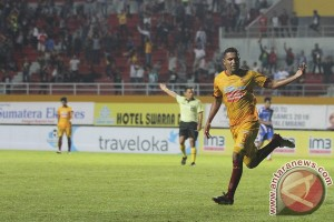 Sriwijaya FC sementara ungguli Mitra Kukar 3-0