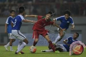 Garuda muda unggul 4-0 atas Singapura