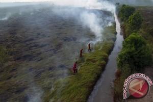 Kebakaran Lahan Di Indralaya