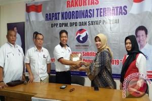Wali Kota Pagaralam silaturahmi ke DPW Perindo
