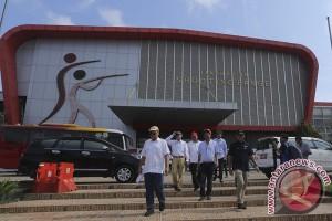 Tinjau Pembangunan Arena Asian Games