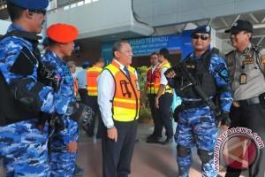 Posko mudik Bandara Palembang mulai beroperasi