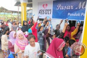 Kemendag-Artha Graha Peduli gelar pasar murah di Palembang