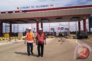 Tol Palembang-Indralaya Sumsel ditutup