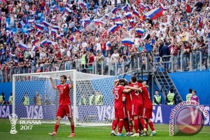 Rusia hadapi pertandingan menentukan melawan Meksiko