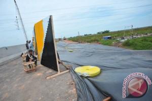 Jalan menuju kawasan wisata TNWK selesai di perbaiki