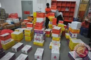 Pengiriman pempek melalui Pos di Palembang meningkat