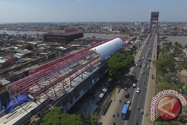 Percepatan pembangunan LRT Palembang jelang Asian Games