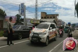 Lalu lintas Padang-Bengkulu ramai lancar