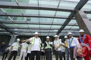 Gubernur Sumsel tinjau pembangunan rumah sakit daerah