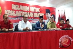 Delapan calon gubernur kembalikan formulir DPD PDI Perjuangan