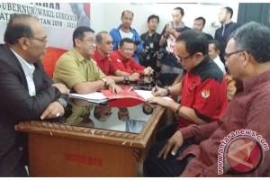 Mantan Wali Kota ambil formulir cagub Sumsel