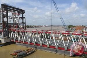 Jembatan Musi VI urai kemacetan Palembang