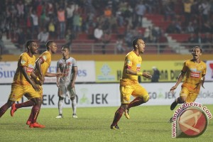 SFC vs  Bali United babak pertama imbang 1-1