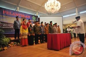 Pelantikan Panitia Penyelenggara Ibadah Haji Palembang