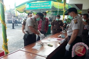 Kejari Baturaja musnahkan barang bukti narkoba