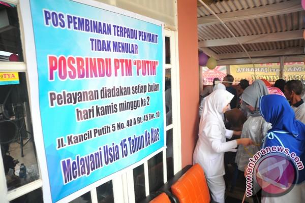 Pemkot Palembang giatkan Posbindu di kecamatan