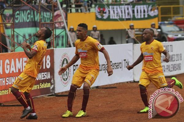 Sriwijaya FC kalahkan Persiba 1-0