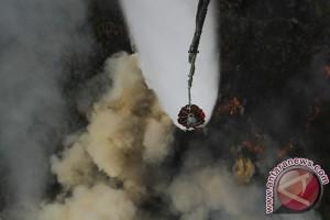 Satgas: Helikopter lepaskan 65 bom air