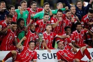 Bayern memenangi piala super Jerman