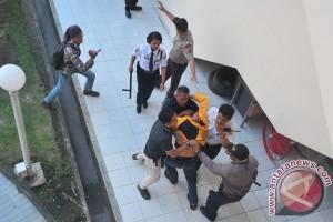 Insiden di Aksi Mahasiswa Unsri