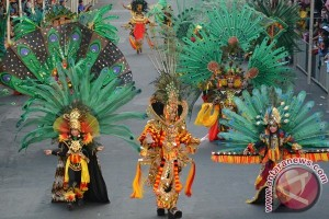 Palembang gelar karnaval 100 hari jelang Asian Games 2018