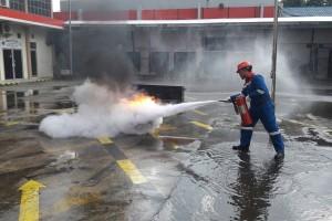 Pertamina latih 45 safety man SPBU