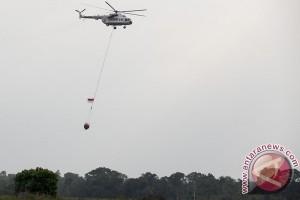 Cegah kebakaran lahan, 15 helikopter pembom air disiagakan