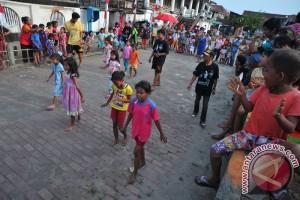 Perlombaan Anak HUT RI di Kampung Kapitan