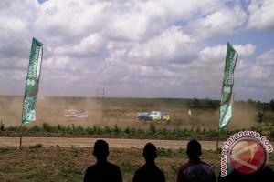 25 pereli jajal Lintasan Tanjung Senai Kejurnas Sprint Rally 2017