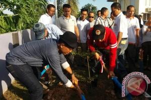 Bawaslu Sumsel tanam pohon bersama Panwas kabupaten