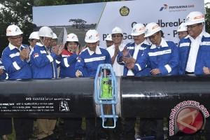 Pembangunan Pipa Gas Grissik - Pusri
