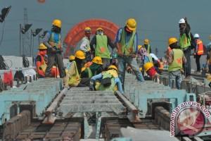 Perkembangan Pembangunan LRT Palembang