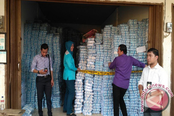Polda Sumsel sita 23 ton garam ilegal