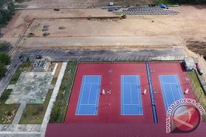 Penambahan Lapangan Tenis Asian Games