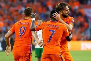 Dua gol Propper bantu Belanda tundukkan Bulgaria