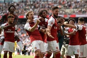 Arsenal kalahkan Milan 2-0