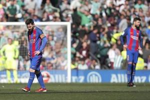 Barca ditahan imbang  Getafe tanpan gol