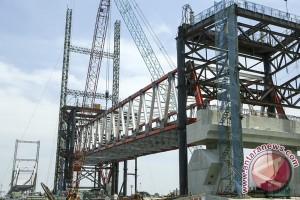 Jembatan Musi VI tahap pertama segera rampung