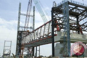 Jalan jembatan Musi IV segera diperlebar