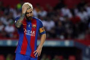 Messi absen bela Barca hadapi Malaga