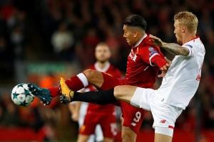 Liverpool ditahan imbang 2-2 oleh Sevilla