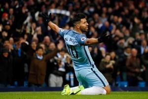 Dua gol Aguero pertahankan City raih 4 gelar