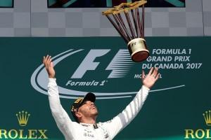 Hamilton raih kemenangan di Grand prix Singapura