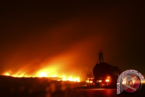Sumur pengeboran minyak ilegal terbakar lima warga tewas