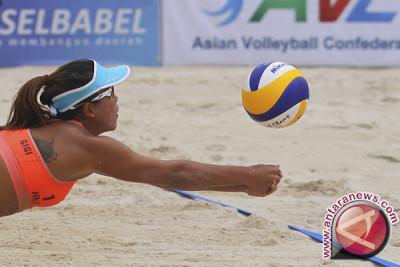 Tim voli pantai putri Indonesia dikalahkan Jepang 1-2