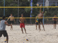 Menjelang Tes Event Volly Pantai